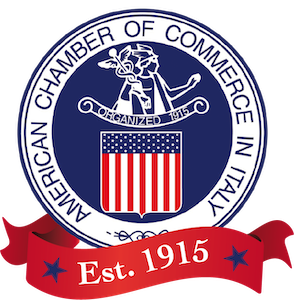 US Chamber of Commerce in Italy logo